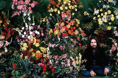 George Harrison photographed in November, 1970 at the time of his third solo album