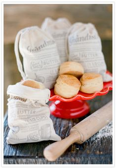 Old-Fashioned Biscuits #southern #red #camillestyles