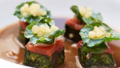 IL SANTO GRAAL: Lovely, creative haute cuisine - Michelin Star worthy