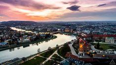Kraków dusk