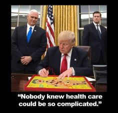 Nobody knew healthcare could be so complicated!