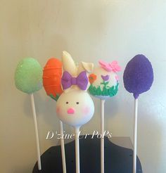 Easter and spring cake pops