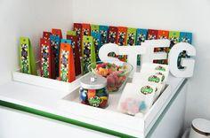 Doopsuiker , suikerboontjes van Stieg ! Leuk voor zowel jonge als meisje @ www.karelicious.be