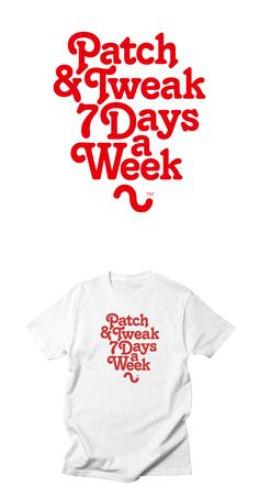 Patch and Tweak 7 Days a Week. Analogue synth T-Shirt Design by Son of Sine. Analog Synth, All Design, Sons, Shirt Designs, Patches, Autumn, Winter, T Shirt, Shopping