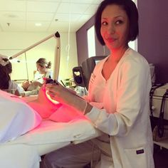 Nothing like a Lumi-Lift treatment before the weekend!  #CatherineHinds #PreWeekendTreats #FridayFacials #EstheticiansInTraining #TheCHILife