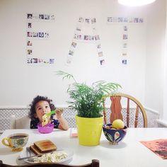 latonyayvette on Instagram decorated her kitchen with  @Prinstagram prints!