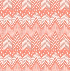 Fitted Crib Sheet In Hand Drawn Chevron By LouLouMade On Etsy 5600