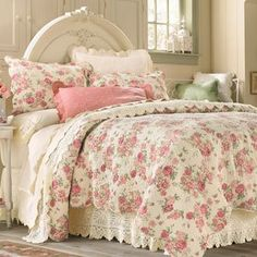 1000 images about shabby chic bedding on pinterest - Dormitorios vintage chic ...