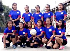 These school girls for the third consecutive time won the championship in Zonal Sports, Mizo school hmeichhe zirlai volleyball thiam takte an ni. Volleyball Team, The Championship, Girl Photos, Asian Beauty, Basketball Court, Girls Dresses, Education, Celebrities, School