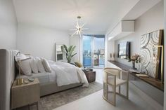 Modern Coastal Miami Condo - Residential Interior Design From DKOR Interiors