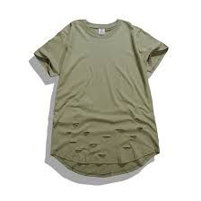 082891cb3ccc02 Kanye West Fashion Summer Hip Hop T-Shirt Extended Hole Clothes Swag Tshirt  Homme Shirts Tyga Terry T-Shirts Streetwear Clothing