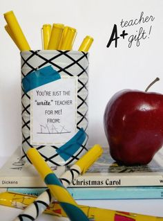 DIY teacher appreciation gift that is useful and cute!