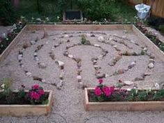Image result for backyard labyrinth plans