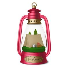 Happy Campers Lantern Ornament