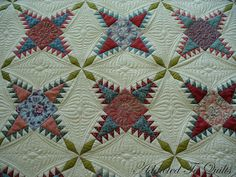 Desley's quilting is always fabulous