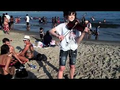 Lindsey Stirling Beach Performance