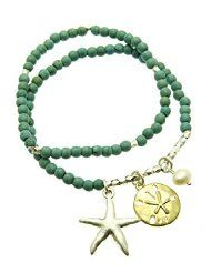 Super Cute using these bracelet around a candle or bottle in a guest room. Awesome hostess gift too