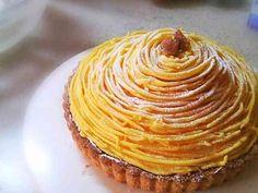 安納芋のモンブランタルトの画像