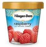 Häagen-Dazs® Sorbet: Raspberry