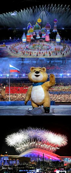 Sochi 2014 Winter Olympics openning ceremony | The House of Beccaria