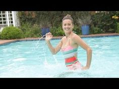 Pool Exercises to Burn Calories | Full Body Workout | Fitness How To - YouTube