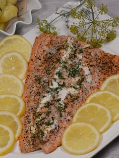 Finland Salmon stuffed with cheese and fresh herbs, yum! Get the recipe and learn about the culture at http://www.internationalcuisine.com it's free!
