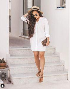 Fashion Inspiration, White Dress, Outfits, Dresses, Vestidos, Suits, Dress, Kleding, Gown