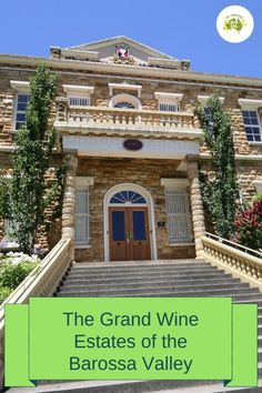 No visit to South Australia would be complete without visiting some of the Grand Wine Estates of the Barossa Valley. Perfect for lovers of wine and history. Sparkling Shiraz, Louisa Rose, Wine Chateau, Emigrate To Australia, Stone Driveway, Alfresco Area, The Settlers, Amazing Buildings, South Australia