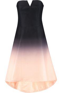 HALSTON HERITAGE Ombré Faille Dress. #halstonheritage #cloth #dress