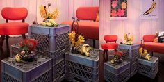 From concept to reality, Blueprint works with top brands to put on events that create an immersive experience for guests. Milk Crates, Immersive Experience, Event Services, Outdoor Furniture Sets, Outdoor Decor, Warhol, Bananas, Coffee Tables, Comic Book