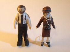 Tiny 1920's people