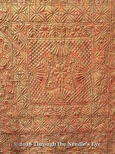 Telling Stories Through the Needle's Eye: Welsh Quilt Museum Longarm Quilting, Hand Quilting, Machine Quilting, Antique Quilts, Vintage Quilts, Whole Cloth Quilts, Hawaiian Quilts, Examples Of Art, Quilting Designs