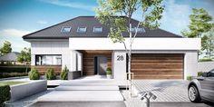 DOM.PL™ - Projekt domu CTP Koncept-28 - DOM CP1-32 - gotowy projekt domu