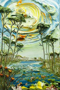 24x36 Lakescape by:Justin Gaffrey