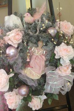 My Shabby Chic Christmas Wreath