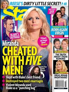 Miranda Lambert Cheated With Five Different Men - Employees, Blake Shelton's BFF, And Baseball Player Josh Beckett!