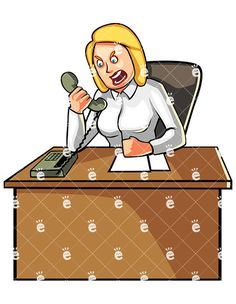 Business Woman Yelling At Someone Over The Phone:  #adult #anger #angry #annoyed #anxiety #anxious #bitter #blonde #boiling #business #cartoon #caucasian #chair #character #clipart #desk #displeased #drawing #enraged #entrepreneur #female #furious #graphic #illustration #image #jenna #mad #office #panic #person #phone #picture #pissed #problems #professional #rage #raging #royalty-free #scream...