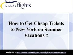 Plan your vacation to New York this Summer