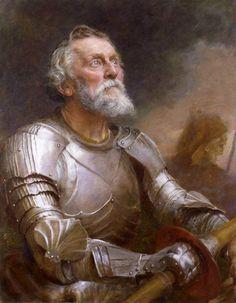 """""""Quijote""""  Edward John Gregory     (1850-1909) -Gran Bretaña -"""