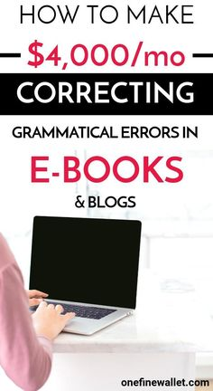 25 Online Proofreading Jobs for Beginners update} Make money online correcting grammatical err Earn Money From Home, Earn Money Online, Online Jobs, Way To Make Money, Money Fast, Tips Online, Online College, Online Earning, Start A Business From Home