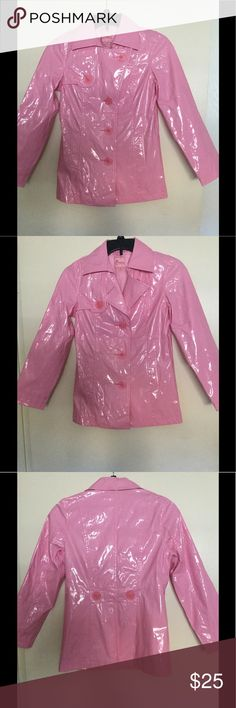 Candie's girl's raincoat NWOT Brand new, never worn. Very cute! Great for warm summer rain. Size M fits 10-12 average built. Price is firm, but I bundle for extra savings if you ask. Candie's Jackets & Coats Raincoats