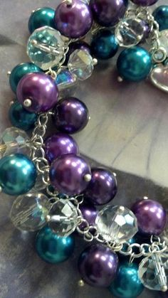 ~My Purple & Turquoise World~