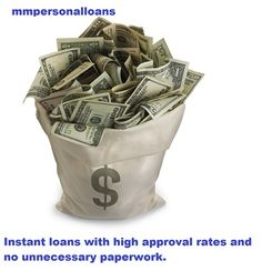 mmpersonalloans.com gives you the best instant loans with no unnecessary paperwork and high approval rates http://www.mmpersonalloans.com/instant-loans/