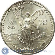 Bullion Coins, Silver Bullion, Gold And Silver Coins, Precious Metals, Mexican, Money, Silver, Mexicans