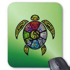 Turtle Ba-Gua Mouse Pad