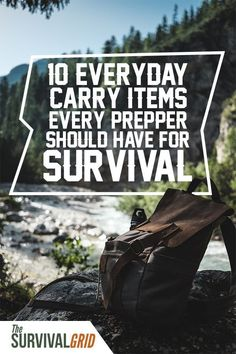 Everyday carry ideas - Check out these 10 everyday carry items you should have. EDC gear or everyday carry gear is an important part of any prepper or survival gear. Check out this essential list of edc items to have when SHTF and you need to survive. Survival Items, Survival Supplies, Urban Survival, Survival Equipment, Wilderness Survival, Survival Prepping, Survival Skills, Survival Food, Survival Hacks