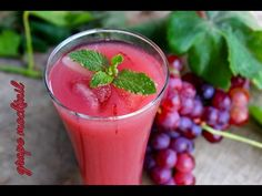 Grape mocktail refreshing drink - Foodvedam - Foodvedam