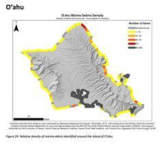 An Aerial Survey Shows Hawai'i's Beaches Are Littered With Marine Debris - Honolulu Magazine - June 2016 - Hawaii