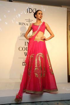 #ICW #ICW2014 #Logixgroup #fdci #RinaDhaka #bridal #beboldwithred #traditional #detailtherapy #Indianfashion #designercouture #elegant #indianbride