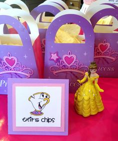 Chip's Chips... I always have to have cutesy names for children's party food. Am I the only one?